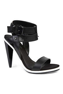 KG BY KURT GEIGER Angle leather sandals