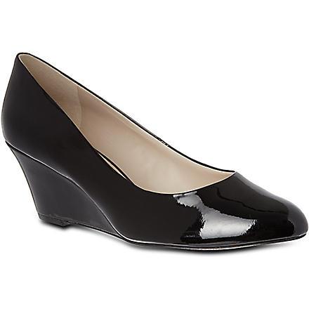 NINE WEST Mela wedge court shoes (Black