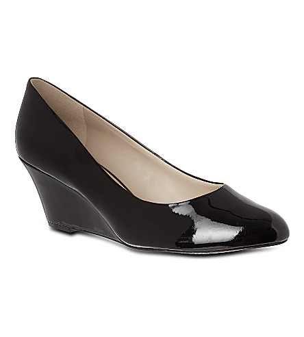 NINE WEST Mela wedge court shoes (Black