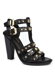 KG BY KURT GEIGER Guard leather gladiator sandals