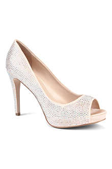 CARVELA Grind diamanté-embellished courts