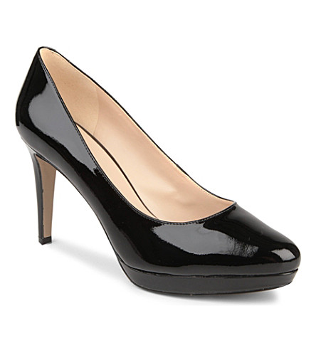 NINE WEST Beautie patent leather courts (Black