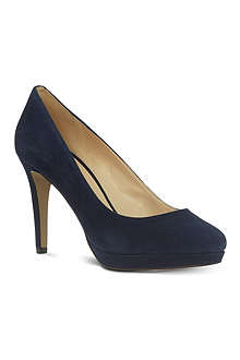 NINE WEST Beautie suede court shoes