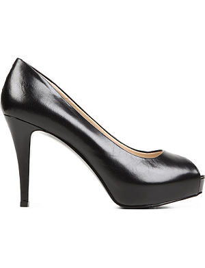 NINE WEST Camya leather courts