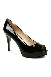 NINE WEST Camya patent leather courts