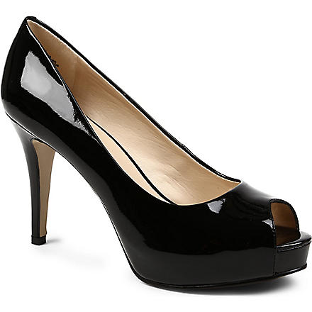 NINE WEST Camya patent leather courts (Black