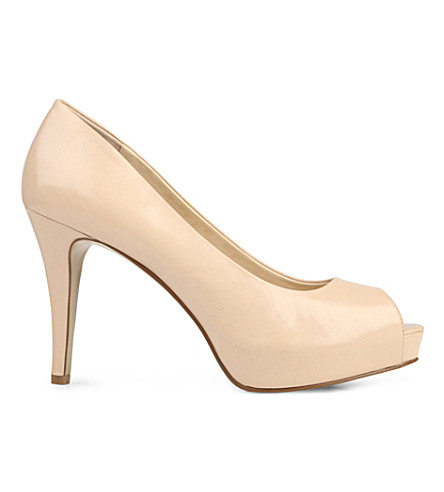 NINE WEST Camya leather courts (Nude