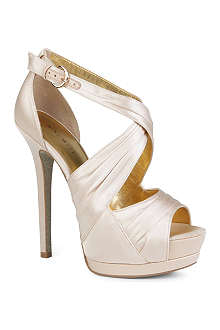 NINE WEST Tellmemore satin sandals