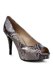 NINE WEST Camya snake-print courts