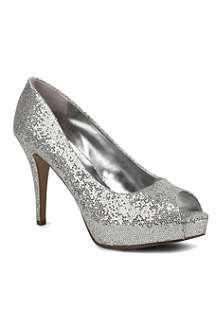 NINE WEST Camya sequin-embellished courts