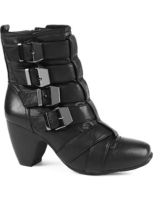 KG KURT GEIGER Sundance leather ankle boots