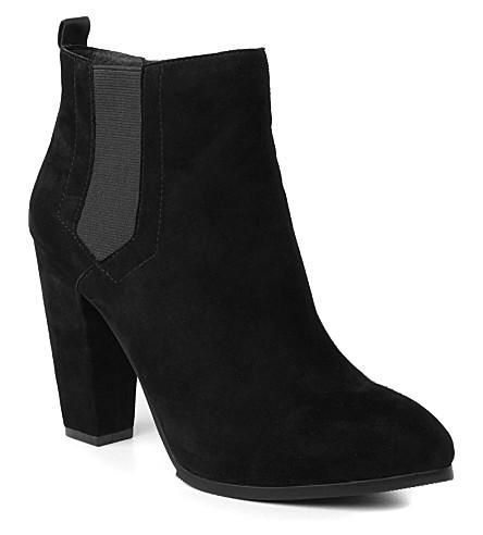 KG KURT GEIGER Stance suede ankle boots (Black