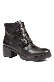 KG BY KURT GEIGER Sand leather ankle boots