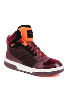 KG BY KURT GEIGER Loud high-top trainers
