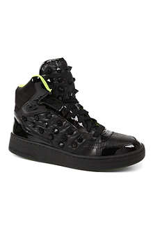 KG BY KURT GEIGER Lexus high-top trainers