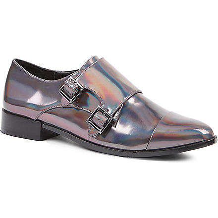 KG BY KURT GEIGER Luther leather brogues (Pewter