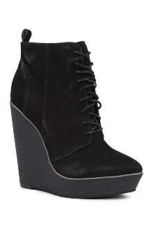 KG BY KURT GEIGER Solar leather ankle boots