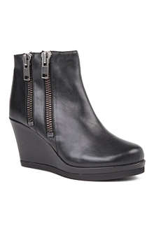 CARVELA Spain leather wedge boots