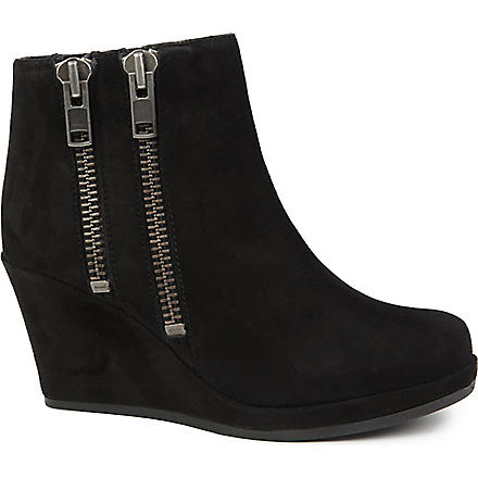 CARVELA Spain faux-suede ankle boots (Black