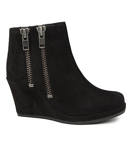CARVELA Spain faux-suede ankle boots (Black