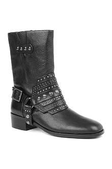CARVELA Smog leather biker boots