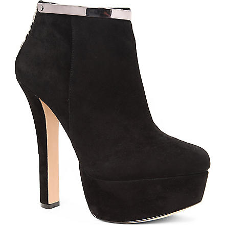 CARVELA Smile suede ankle boots (Black