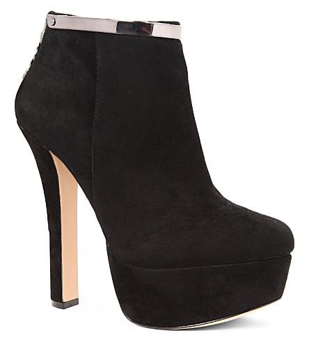 CARVELA Smile suede ankle boots (Black