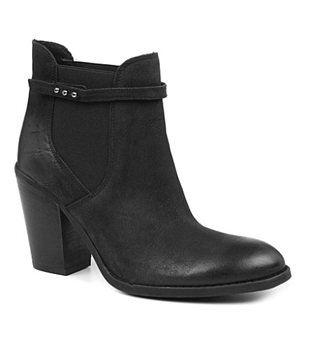 CARVELA Stand leather ankle boots (Black