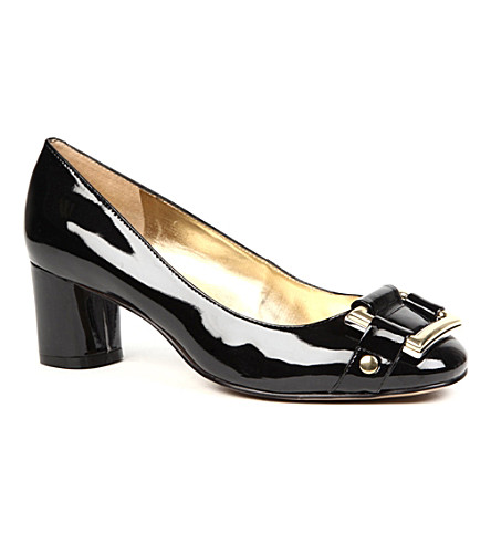 NINE WEST Solvent3 mid-heel courts (Black