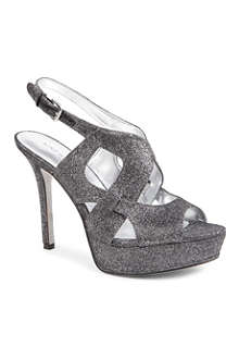 NINE WEST Fontia2 metallic sandals