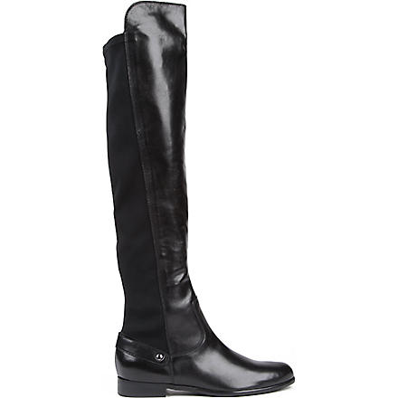 CARVELA Wood over-the-knee boots (Black