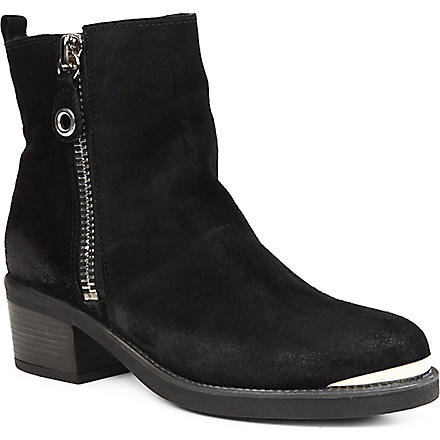 CARVELA Stephan suede ankle boots (Black