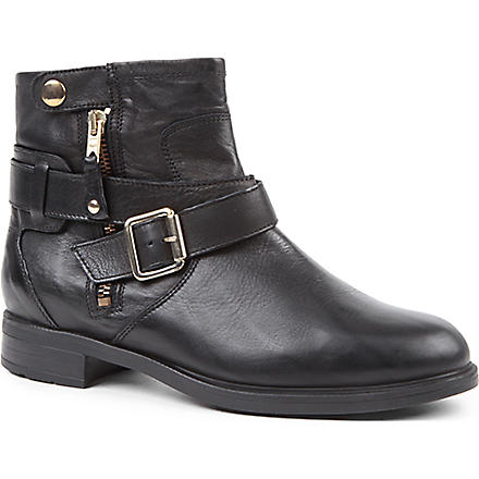 CARVELA Saturn leather ankle boots (Black