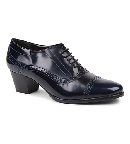 CARVELA Act leather brogues (Blue