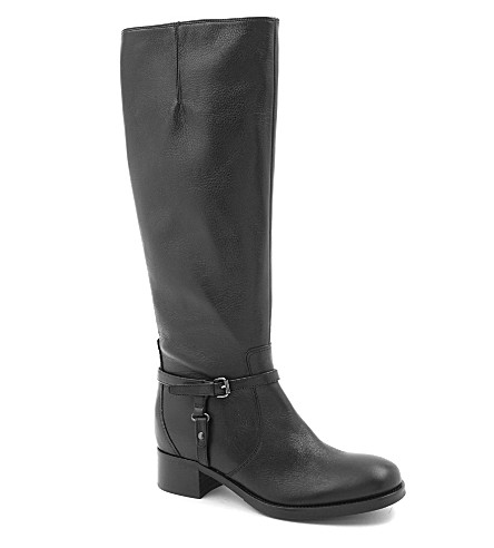 CARVELA Waltz leather knee-high boots (Black