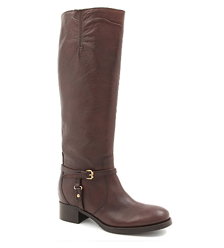 CARVELA Waltz leather knee-high boots (Brown