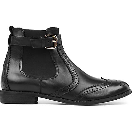 CARVELA Slow leather ankle boots (Black