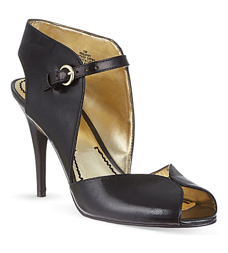 NINE WEST Savvy slingback courts (Black