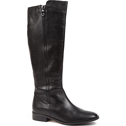 CARVELA Wanda leather riding boots (Black