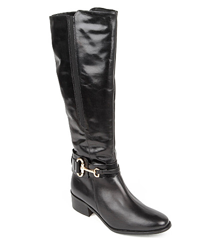 CARVELA Willing knee-length boots (Black