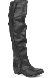 KG KURT GEIGER Wentworth leather riding boots