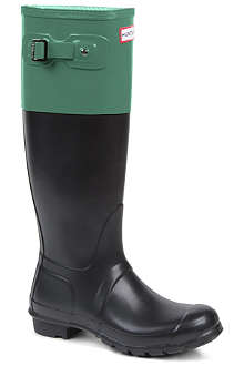 HUNTER Original colour-block wellies