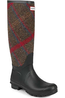 HUNTER Original Check wellies