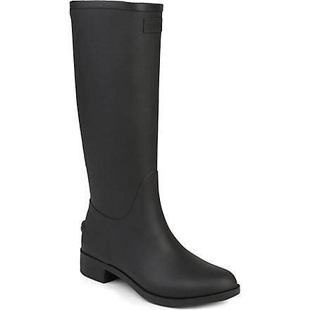 HUNTER Belsize Hayden adjustable wellies (Black