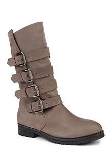KG BY KURT GEIGER Trooper biker boots