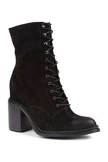 KG BY KURT GEIGER Saturn suede lace-up boots