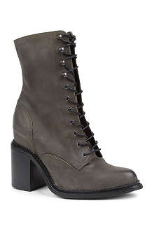 KG BY KURT GEIGER Saturn leather lace-up boots