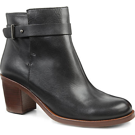 KG KURT GEIGER Sasha leather ankle boots (Black
