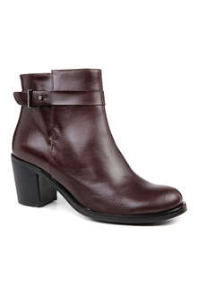 KG BY KURT GEIGER Sasha leather ankle boots