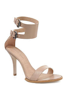 KG BY KURT GEIGER Harmony leather ankle-cuff sandals